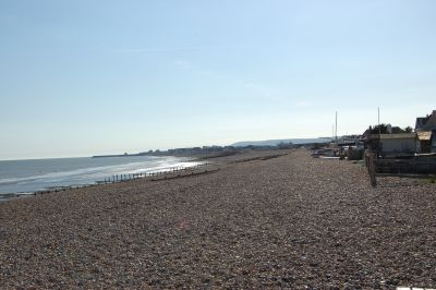 Pevensey Beach by Gary the chimney sweep