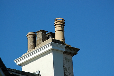 Pevensey chimney stack taken by Gary the chimney sweep