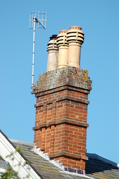 Wadhurst chimney by Gary the chimney sweep